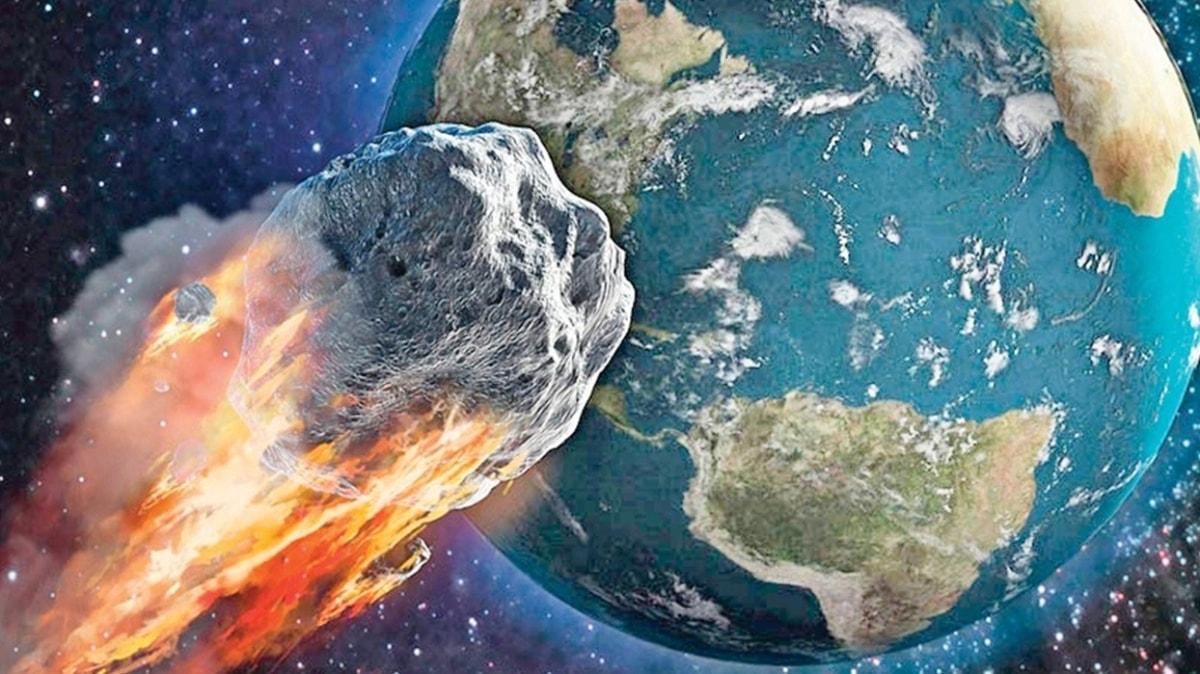 2.4 km'lik dev göktaşı Dünya'yı teğet geçti