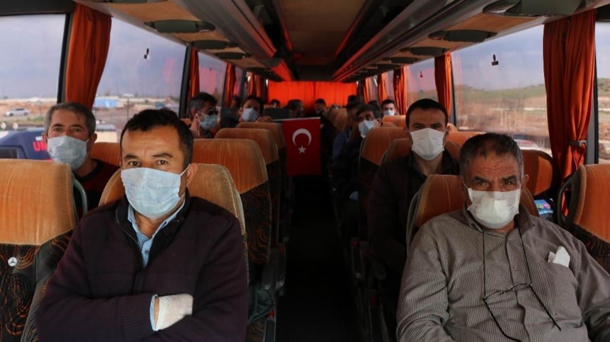 Irak'tan getirilen vatandaşlar 14 günlük karantina sürecini tamamladı
