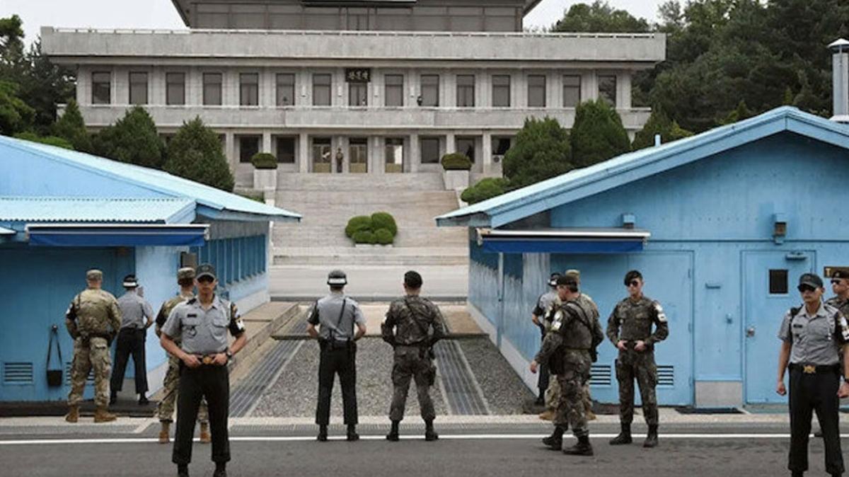 Kuzey Kore-Güney Kore sınırında karşılıklı ateş açıldı