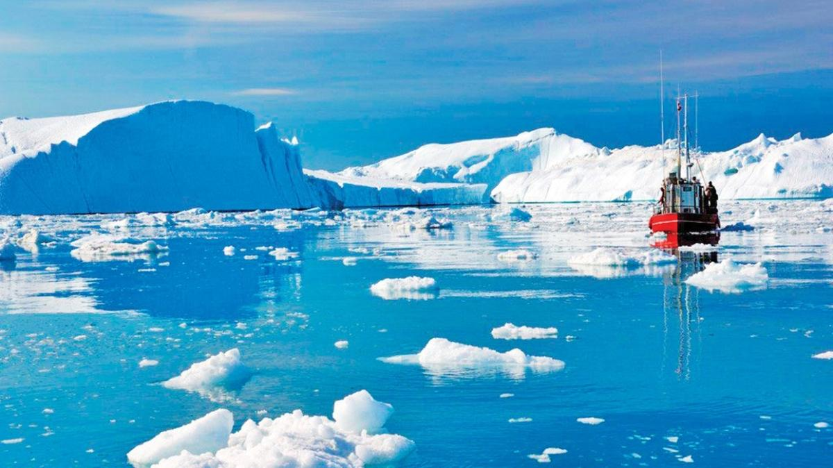Buzullardaki 318 gigaton buz eridi
