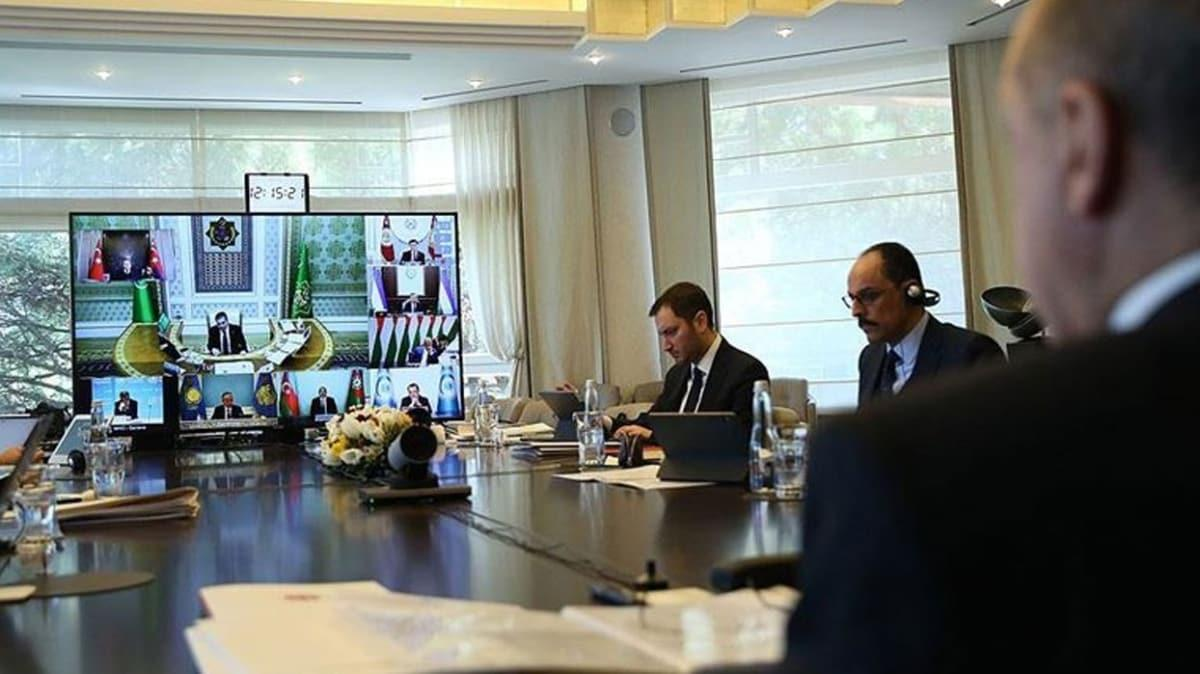 Türk Konseyi, salgının ekonomik etkisini azaltmak için iş birliğini güçlendirecek