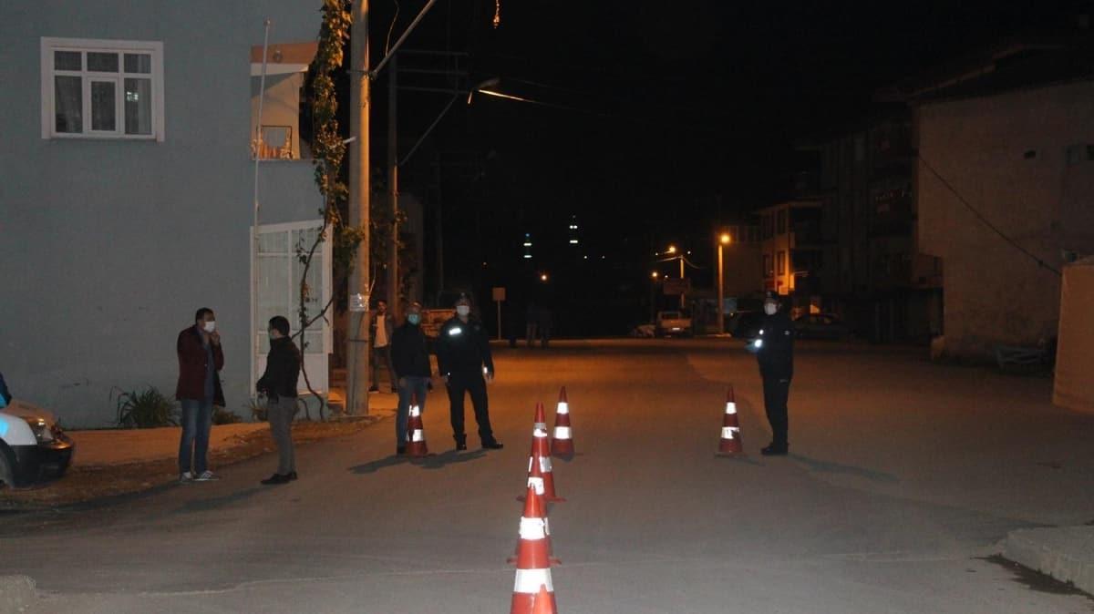 Tokat Erbaa'da 2 mahalle, karantinaya alındı