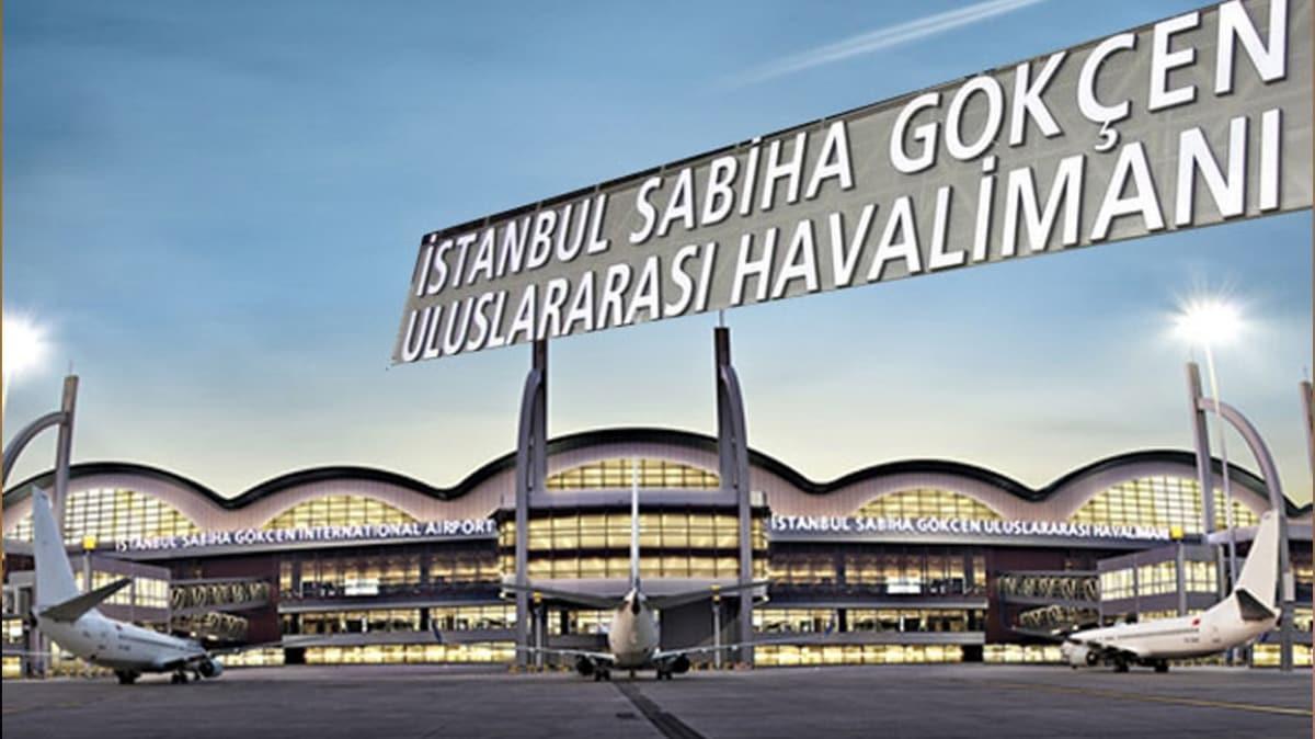 Sabiha Gökçen Havalimanı'nda açılış hazırlıkları