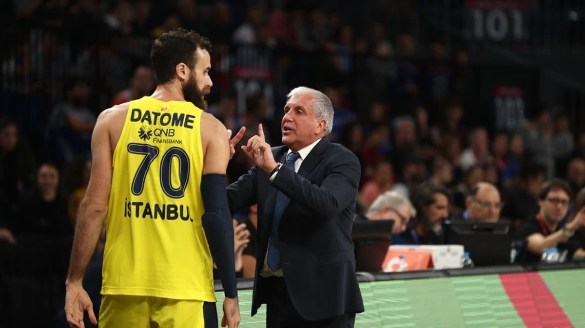 Luigi Datome: Bu sezon Obradovic'e çok büyük hayal kırıklığı yaşattık