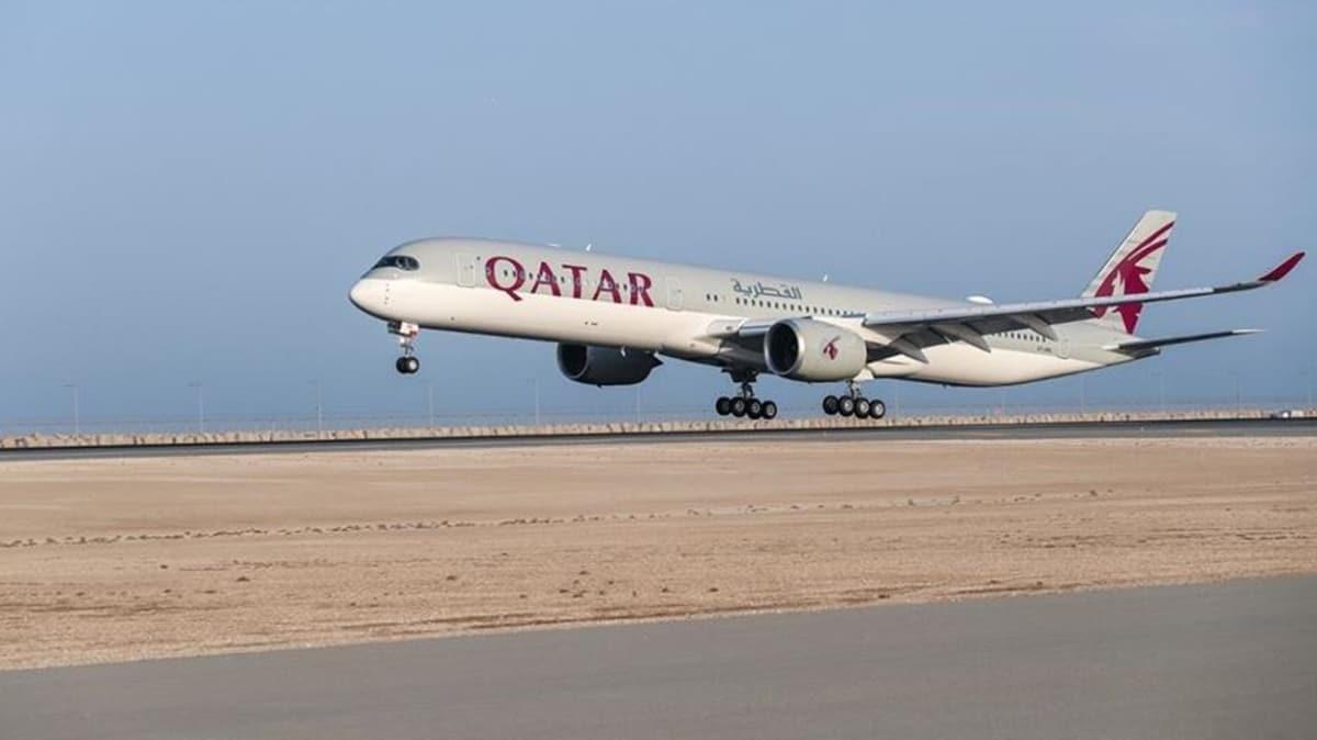 Katar'dan koronavirüsle mücadele eden sağlık çalışanlarına 100 bin uçak bileti