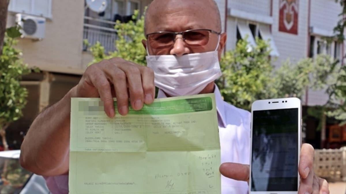 Antalya'da oğlu için 50 bin TL kredi çeken adamın hesabındaki para 2 dakika sonra 96 bin tl oldu