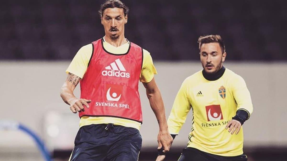 Ibrahimovic'in yakın arkadaşı Kartal oluyor