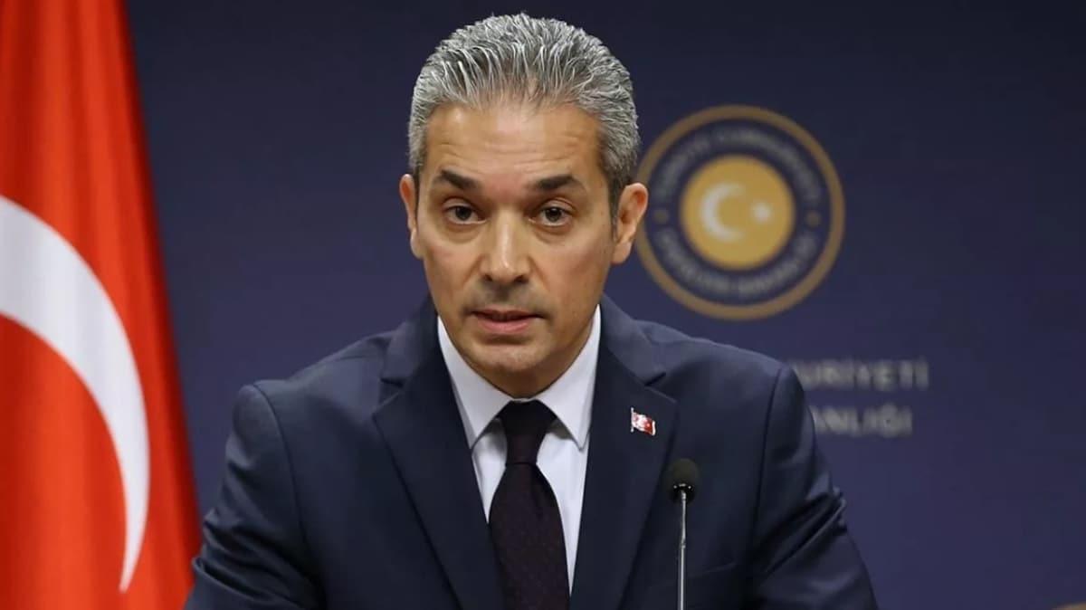 Türkiye'den o iddialara cevap: Rum yönetimi zamanında başvuru yapmadı
