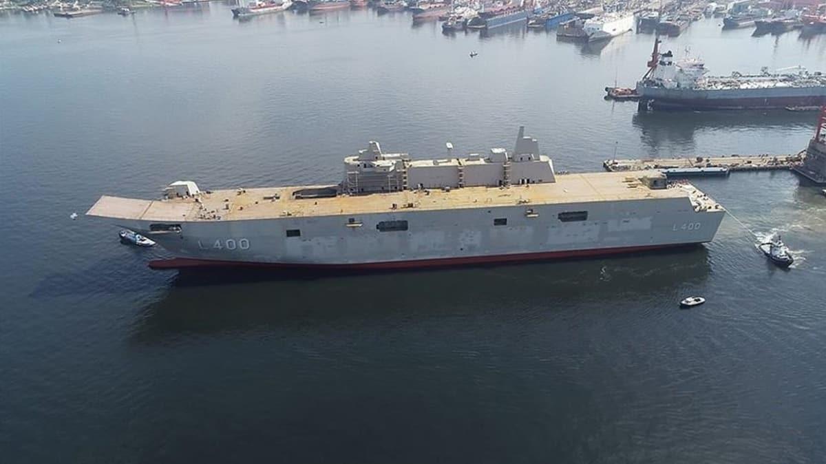 Türkiye'nin en büyük savaş gemisi ABD basınında... Dikkat çeken 'yerli ve milli' yorumu