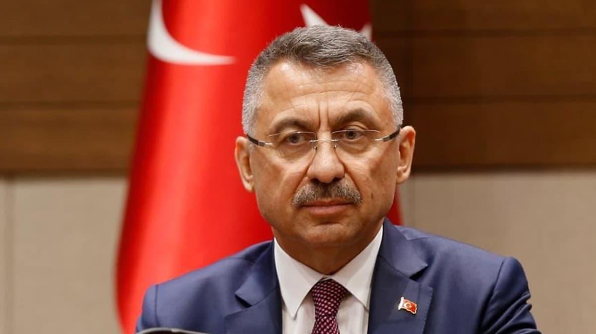Cumhurbaşkanı Yardımcısı Oktay, Van'daki terör saldırısında hayatını kaybedenlere rahmet diledi