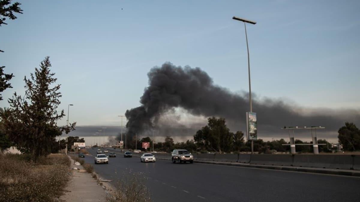 Öfke Volkanı Operasyonu sürüyor... Libya ordusu, Hafter milislerini taşıyan otobüsü vurdu