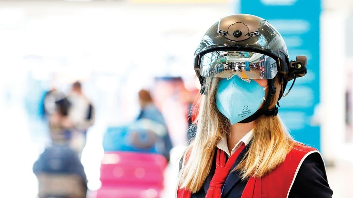 Havaalanları için akıllı kasklar geliyor