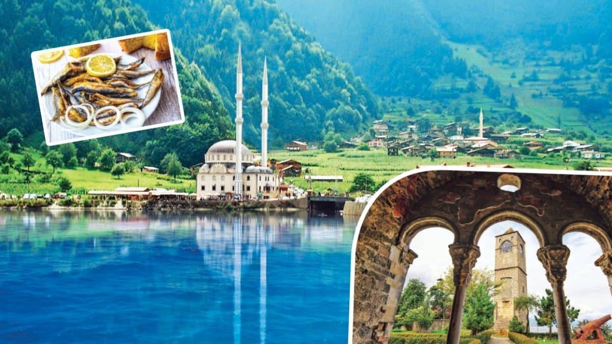 Bahar aylarının gözde merkezi: Trabzon