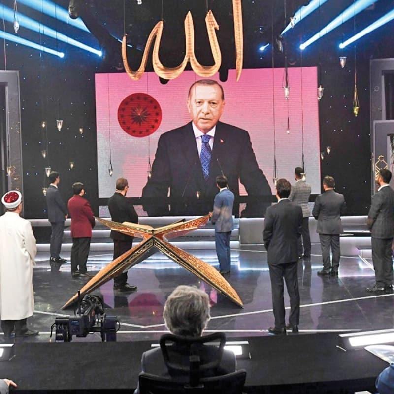 TRT'nin Kur'an-ı Kerim'i Güzel Okuma Yarışması'nda final heyecanı!