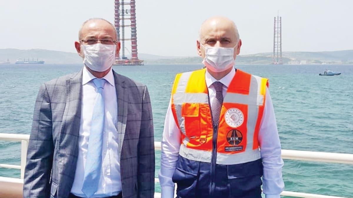 Ulaştırma Bakanı Adil Karaismailoğlu AKŞAM'a konuştu: Kara, hava tamam sıra demiryolunda