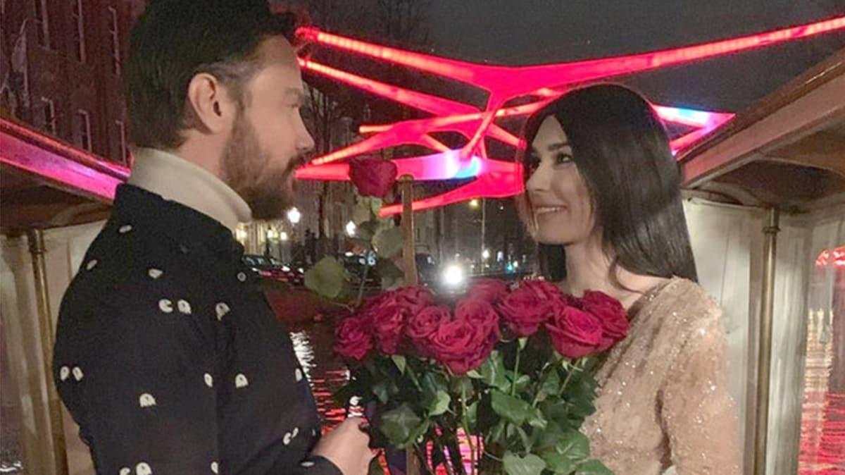 Burcu Kıratlı'dan Sinan Akçıl'a: Ruh eşim, iyi ki doğdun!
