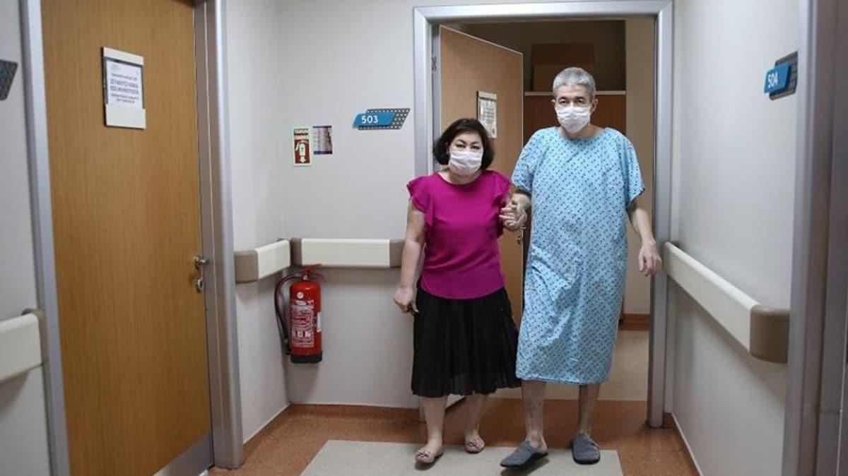 'Yürüyemez' denilen Kazaklı iş insanı Türkiye'de sağlığına kavuştu