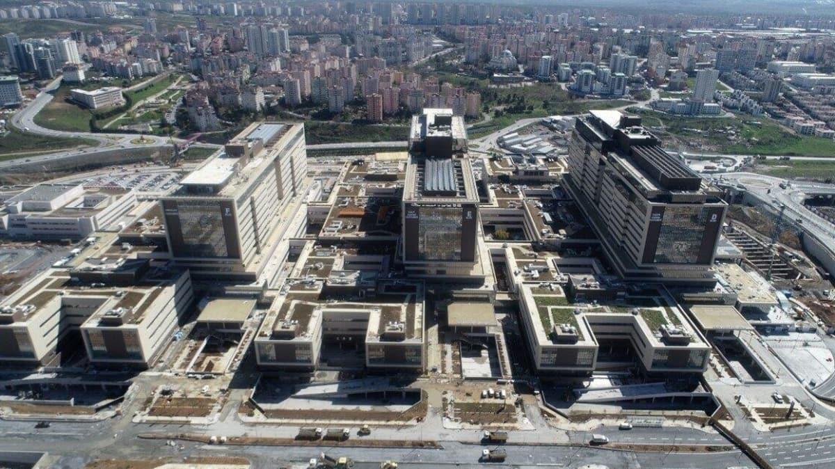 Başakşehir Çam ve Şakura Şehir Hastanesi bugün açılıyor! Törene Başkan Erdoğan ve Şinzo Abe katılacak