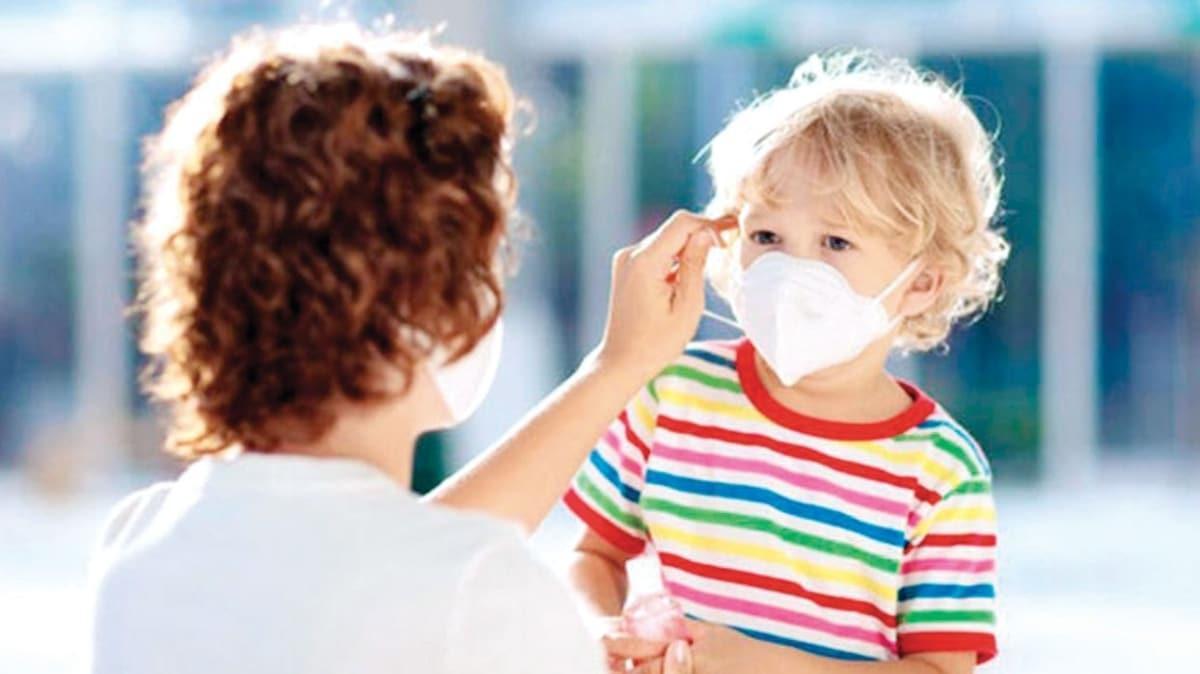 'Çocukların %90'ı virüsü evde kapıyor'