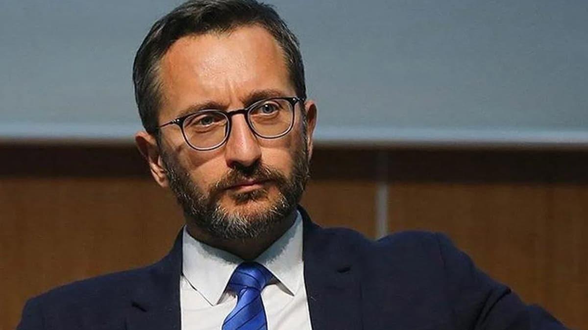 İletişim Başkanı Altun'dan İzmir'de cami hoparlörlerinden müzik yayını yapılmasına sert tepki