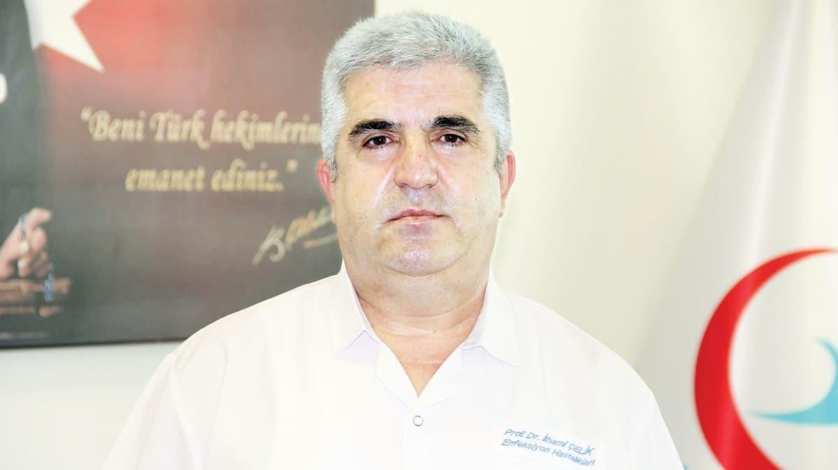 Bilim Kurulu üyesi Prof. Dr. İlhami Çelik: Sıcaklığın artışı yayılımı azaltır