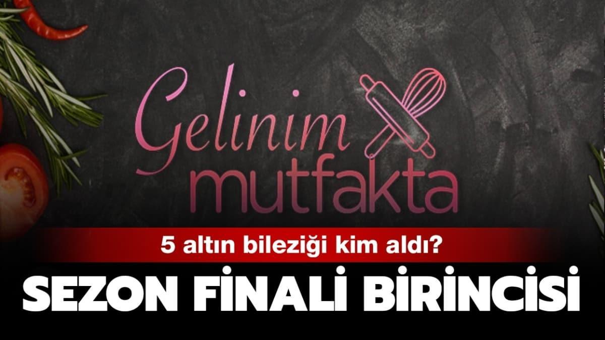 """Gelinim Mutfakta sezon finali birincisi kim oldu"""" İşte Gelinim Mutfakta 22 Mayıs 2020  kazananı!"""