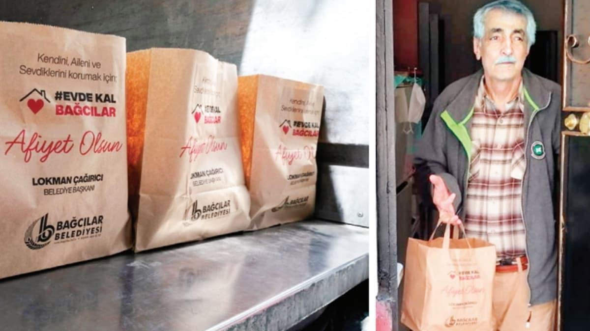 Bağcılar'da 12 bin aileye gıda yardımı yapıldı