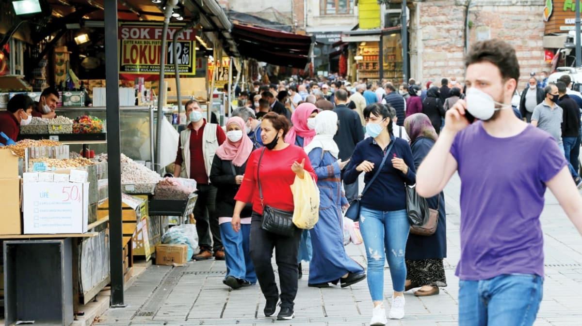 Kısıtlamalar en son İstanbul'da kalkacak
