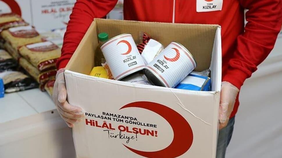 Türk Kızılayı milyonlarca kişiye el uzattı