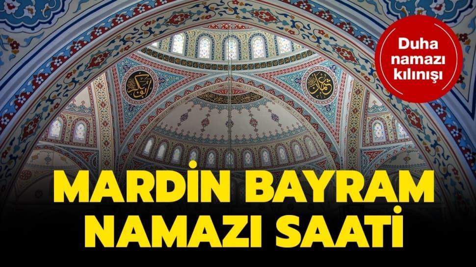Mardin Ramazan Bayramı namazı vakti 2020!
