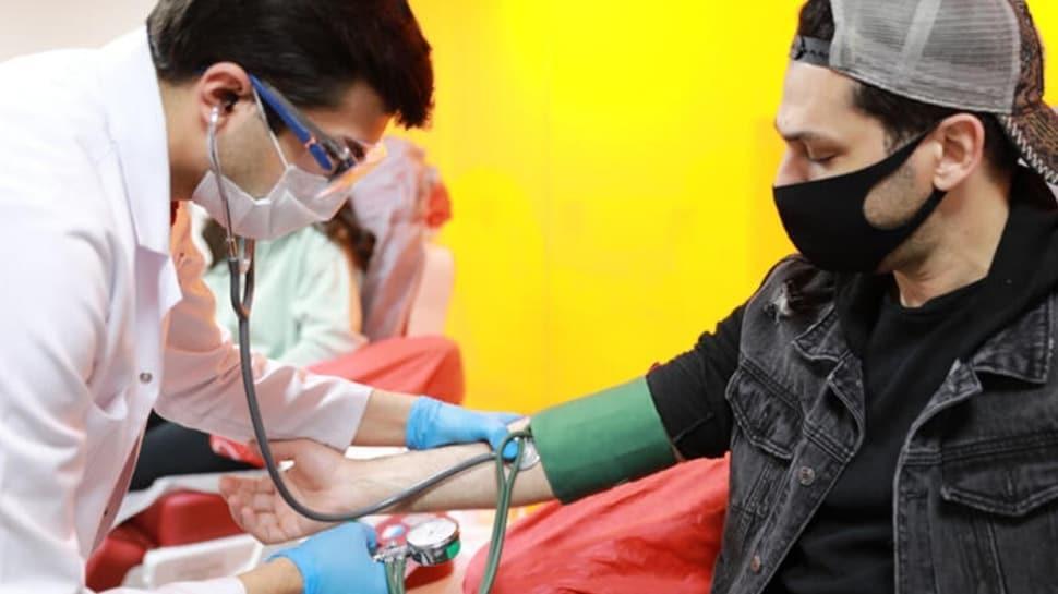 Murat Yıldırım Türk Kızılay'a kan bağışında bulundu