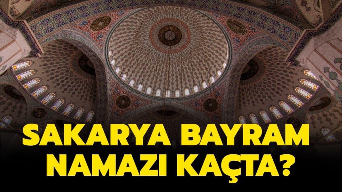 """Diyanet Sakarya Ramazan Bayramı namazı ve kuşluk vakti 2020! Sakarya bayram namazı saati kaçta kılınacak"""""""