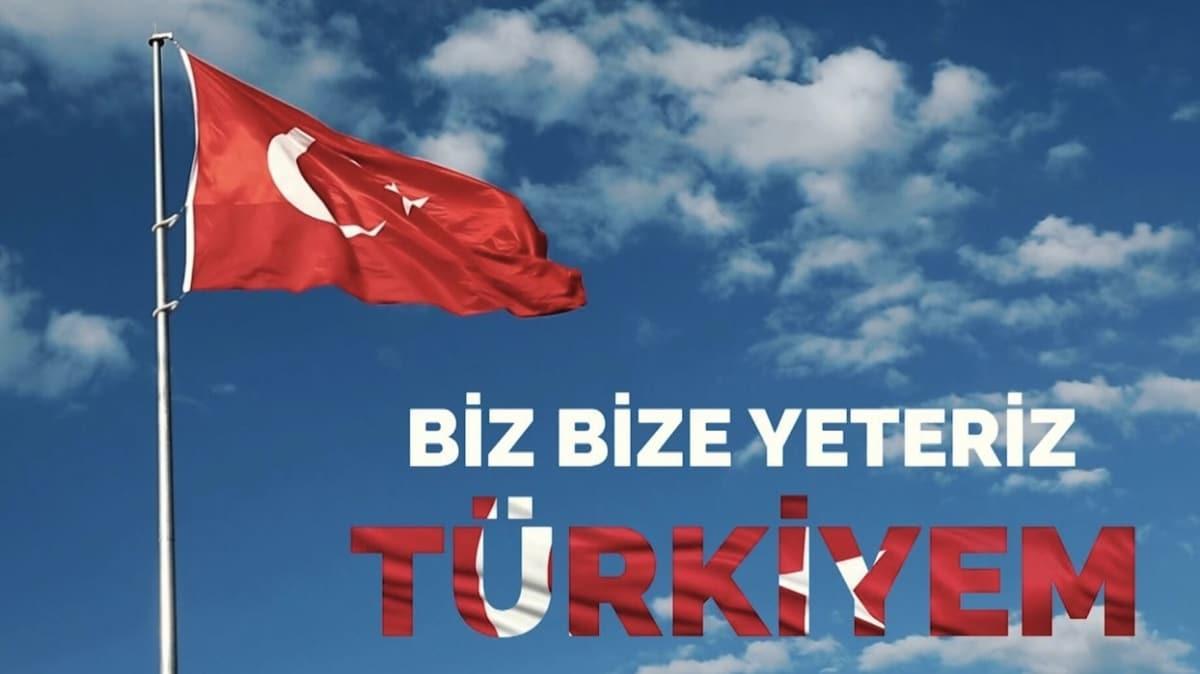 Biz Bize Yeteriz Türkiyem kampanyansına yapılan bağış 2 milyar lirayı aştı