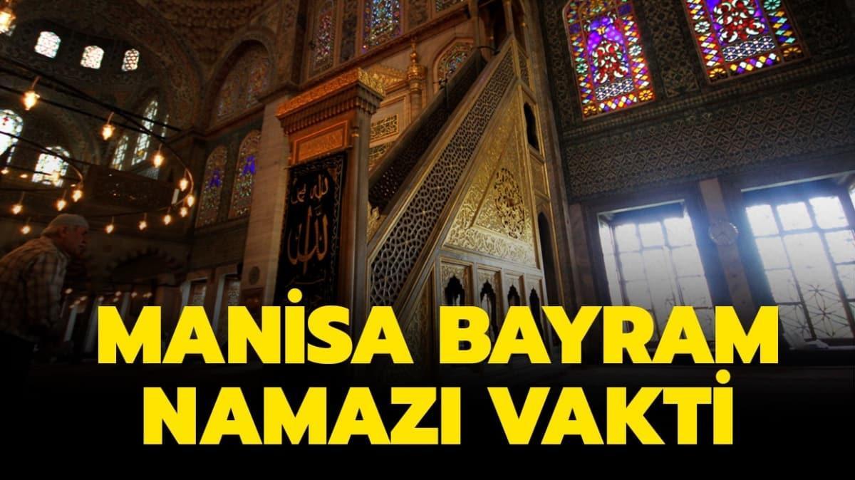 Manisa bayram namazı saati 2020!
