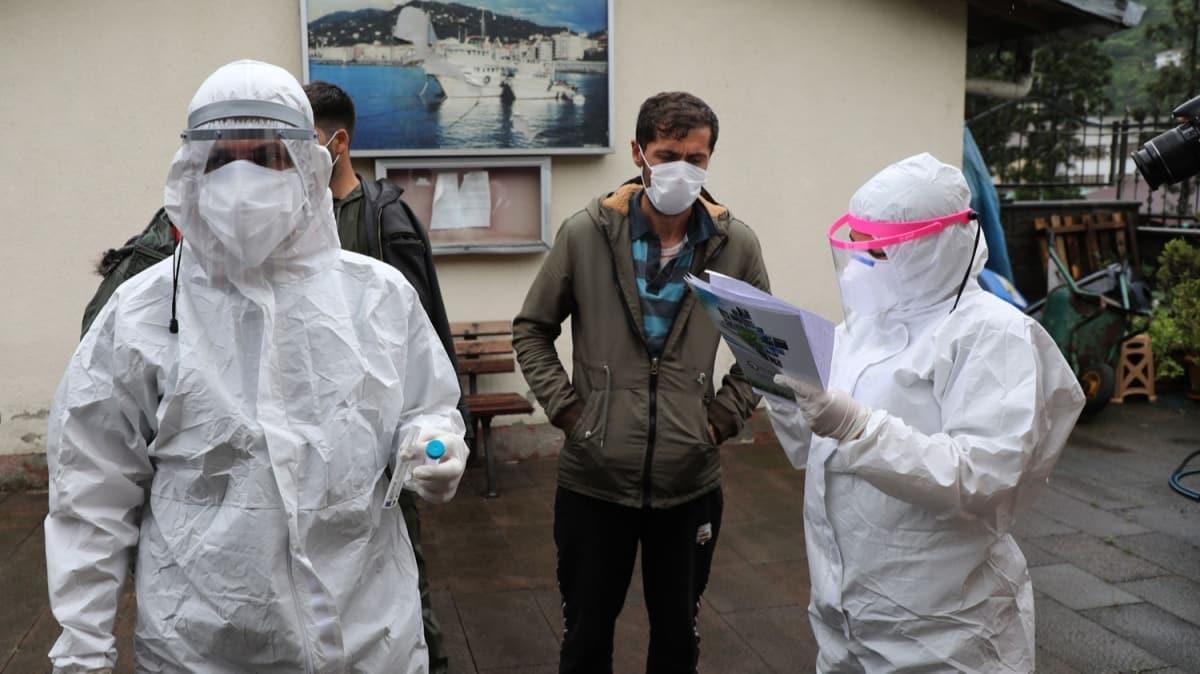 Rize'ye giden çay üreticilerine koronavirüs testi! Her evden bir kişi