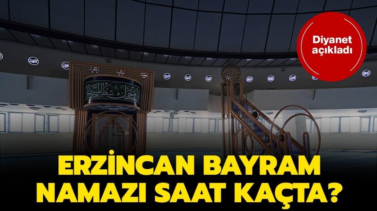 "Erzincan bayram namazı saat kaçta"" Diyanet Erzincan bayram ve kuşluk namazı vakti 2020!"