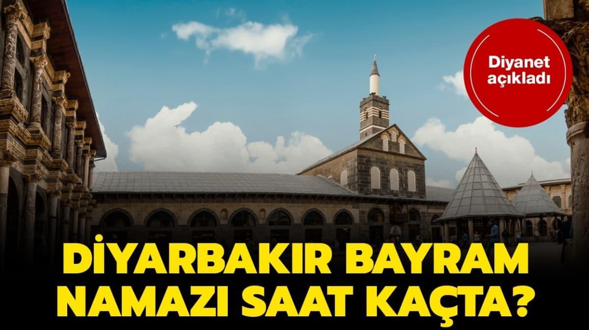 """Diyarbakır bayram namazı saat kaçta"""" Diyarbakır bayram ve duha namazı vakti 2020!"""