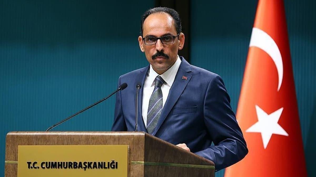 Cumhurbaşkanlığı Sözcüsü Kalın'dan turizm sektörü açıklaması... O tarihe işaret etti