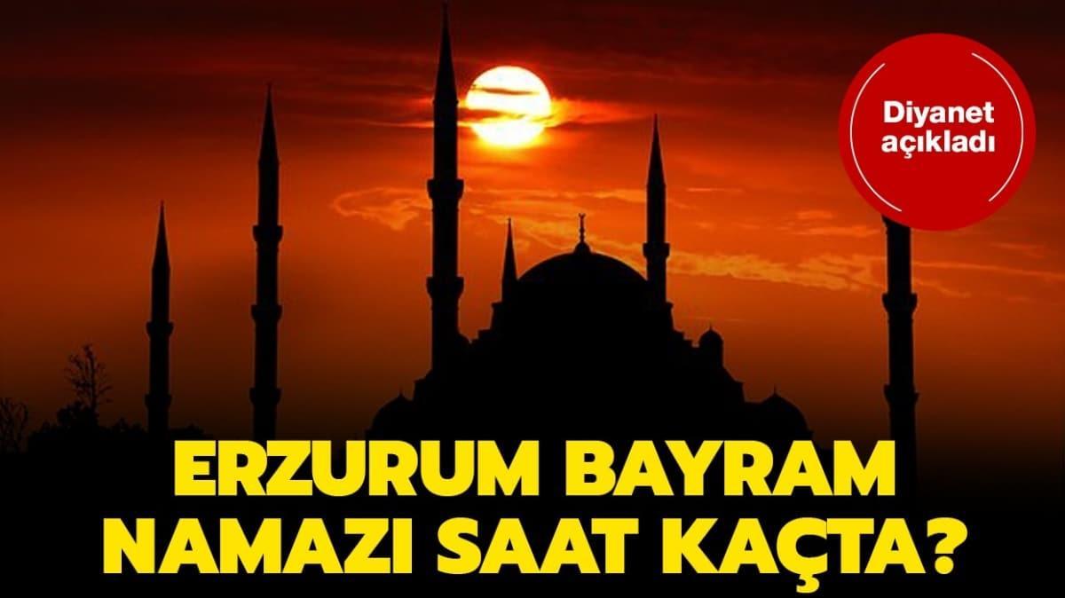 """Erzurum duha ve kuşluk namazı vakti 2020! Erzurum Bayram namazı saat kaçta"""""""