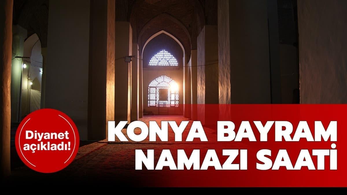 Konya Ramazan Bayramı namazı saati 2020!