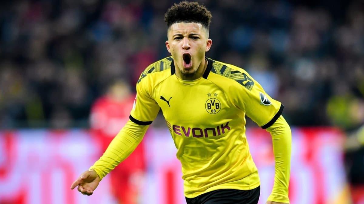 Jadon Sancho Dortmund asist rekorunu kırdı