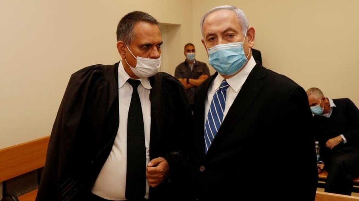 İsrail için tarihi gün: Netanyahu hakim karşısında