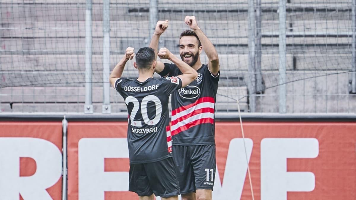 Kenan Karaman'ın gol attığı maçta Fortuna Düsseldorf deplasmanda Köln ile berabere kaldı