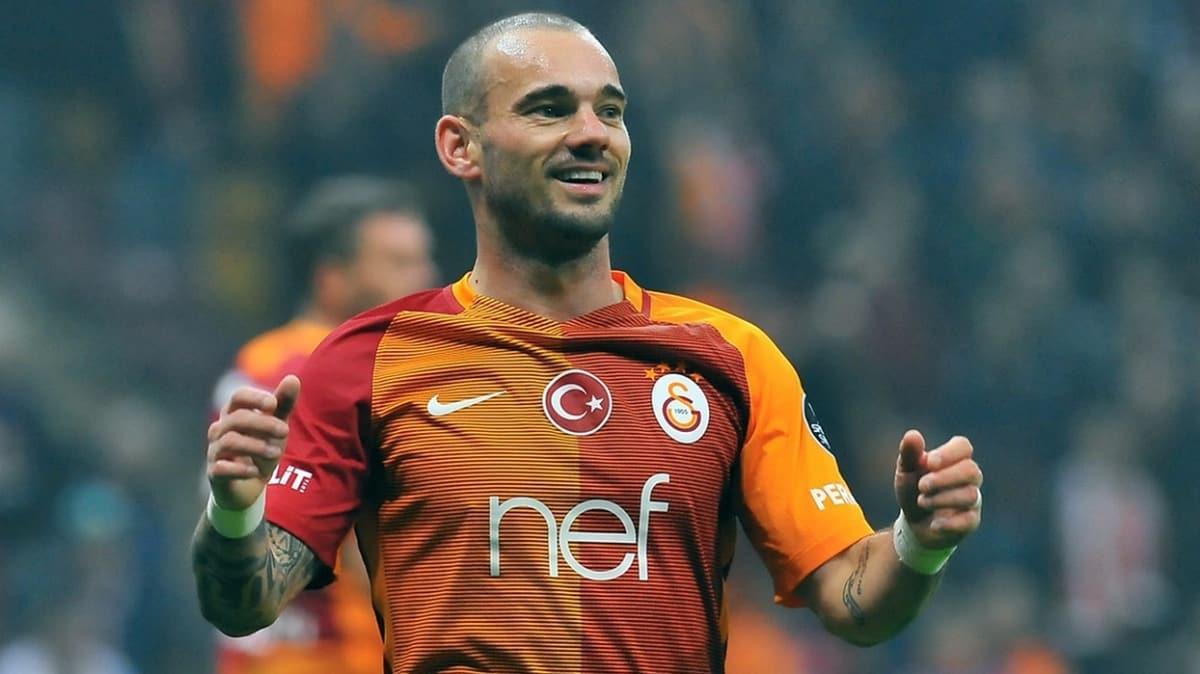 Hollanda basınından Galatasaraylıları heyecanlandıran Wesley Sneijder haberi