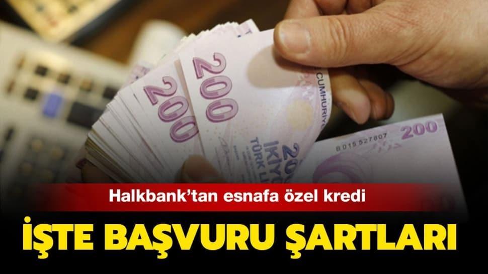 Halkbank'tan esnaf kredisi