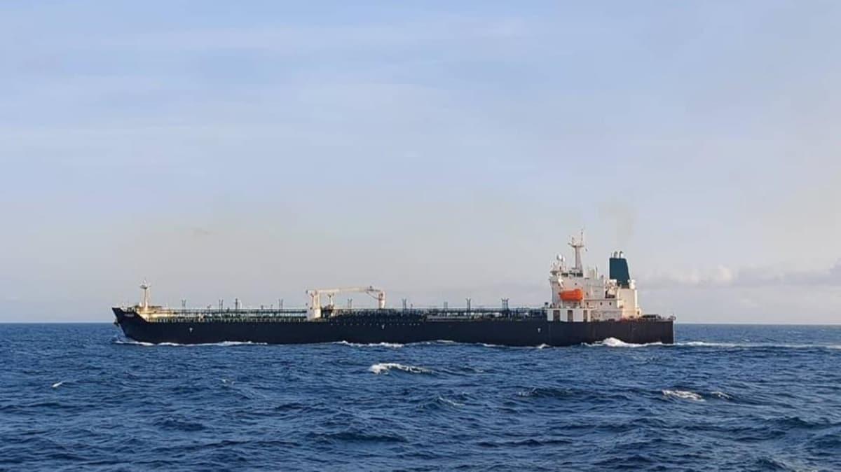 Venezuela'ya petrol götüren İran'a ait 5 tankerden Forest'ın ilk görüntüleri paylaşıldı