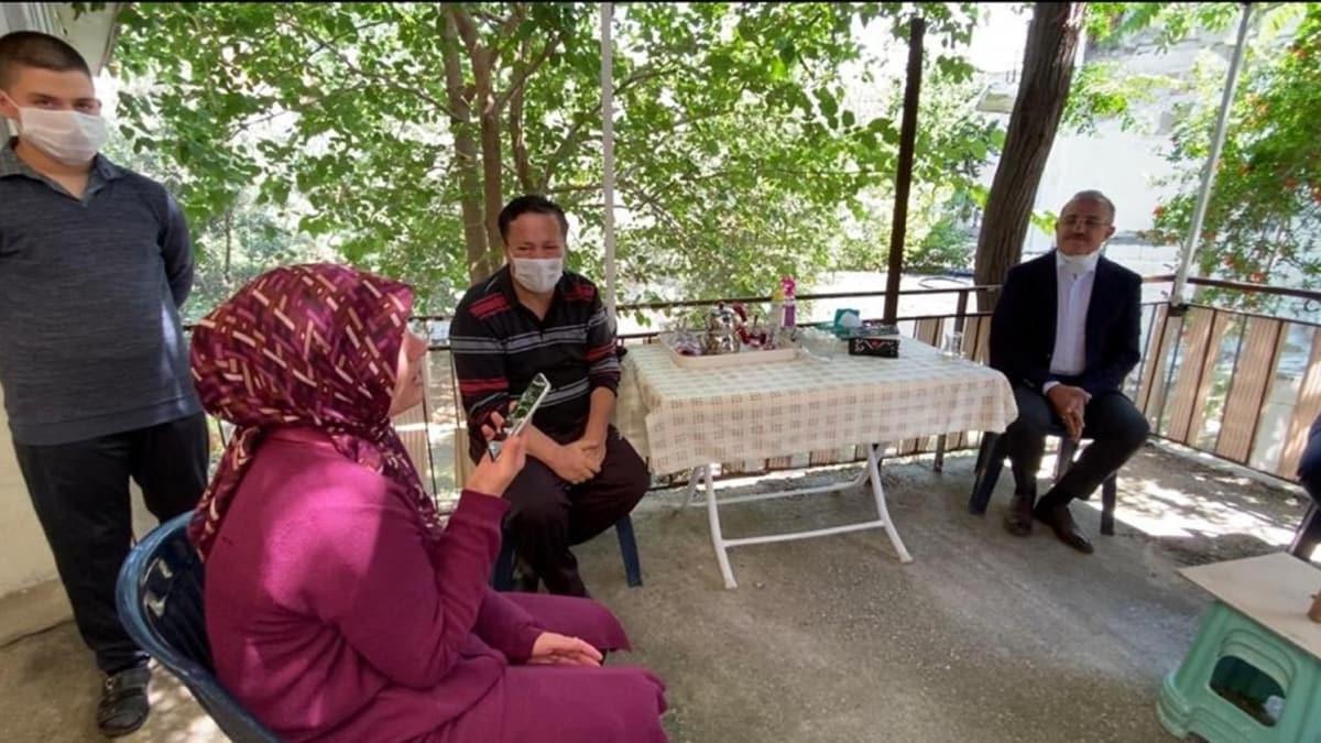 Başkan Erdoğan'dan İzmir'deki şehit ailesine bayram telefonu