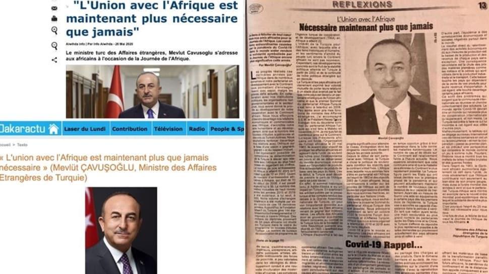 Bakan Çavuşoğlu'nun yazdığı makale büyük yankı buldu