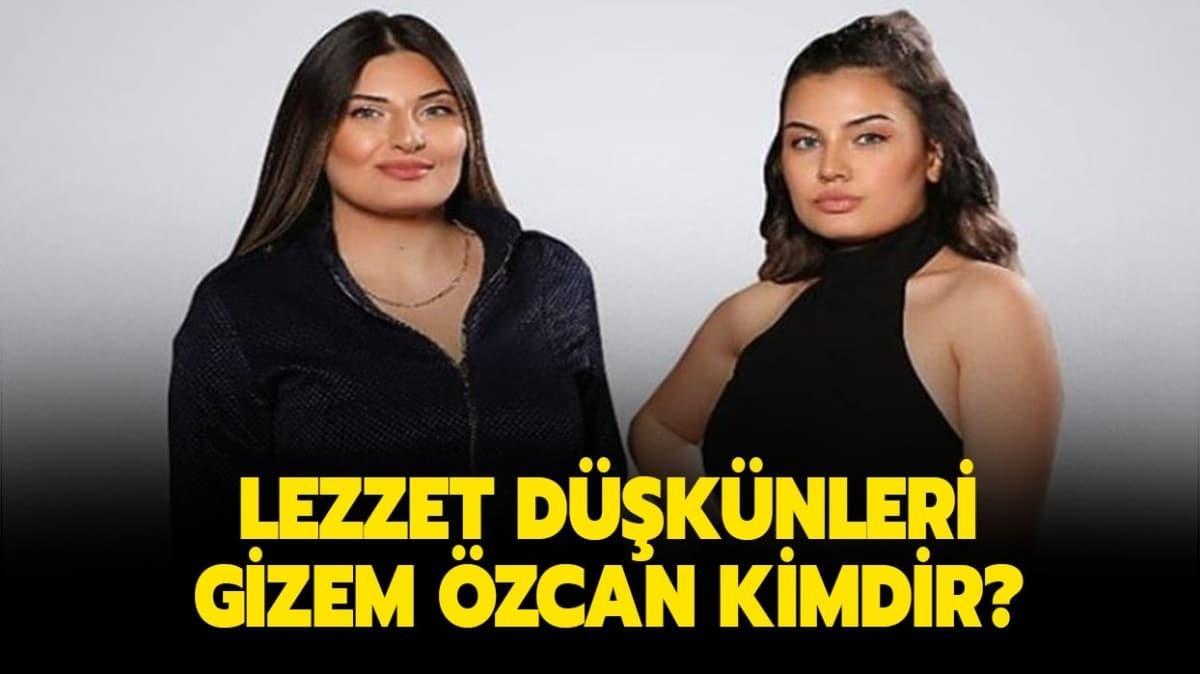 """Gizem Özcan kaç yaşında, nereli"""" Lezzet Düşkünleri Gizem Özcan kimdir"""""""