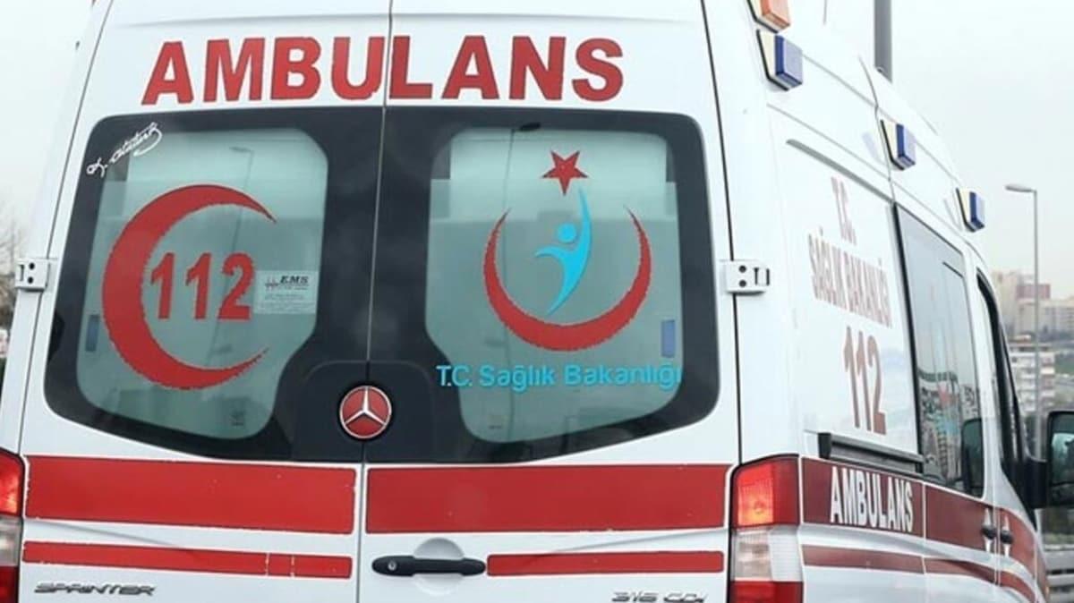 Kayseri'de 8 kişi karbonmonoksit gazından zehirlendi